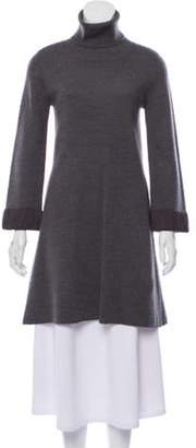 Alice + Olivia Turtleneck Mini Sweater Dress Turtleneck Mini Sweater Dress