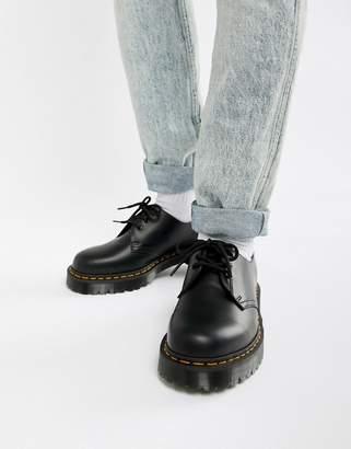Dr. Martens (ドクターマーチン) - Dr Martens 1461 Bex platform 3-eye shoes in black