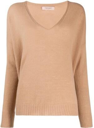 Twin-Set deep v-neck sweater