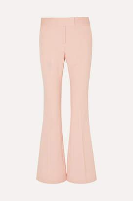 Rachel Zoe Lourdes Piqué Flared Pants - Pastel pink