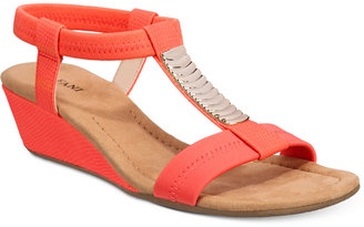 Alfani Women's Vacay Wedge Sandals, Only at Macy's Women's Shoes $49.98 thestylecure.com