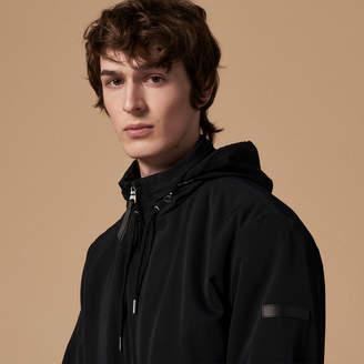 Sandro Technical jacket with hood