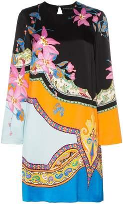 Etro Eastern print shift dress