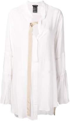 Ann Demeulemeester long-sleeve flared blouse