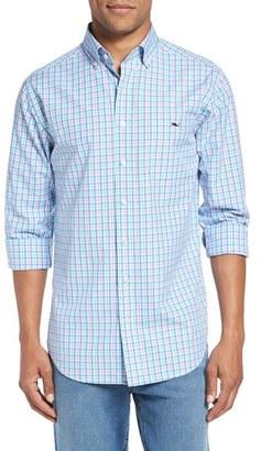 Men's Vineyard Vines 'Phinneys' Slim Fit Plaid Sport Shirt $98.50 thestylecure.com