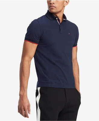 Tommy Hilfiger Men's Sanders Custom Fit Polo