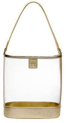 GiGi New York Virginia PVC Hobo Bag with Metallic Trim