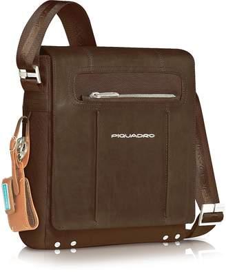 Piquadro Link - Vertical Messenger Bag