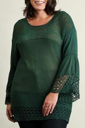 Umgee USA Bell Sleeve Sweater