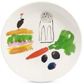 Kate Spade Sandwich Art Accent Plate