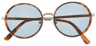 Vince Camuto Frosted-detail Round Sunglasses