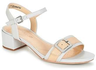 b83043ea2fd Clarks Woman White Sandals - ShopStyle UK
