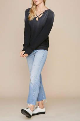 LnA Cross It Sweater
