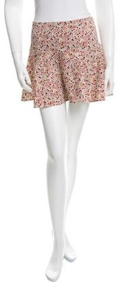 Thakoon Addition Floral Print Mini Skirt