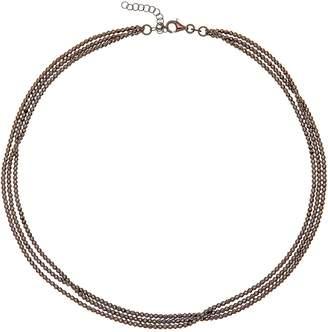 Durrah Jewelry Graphite Dream Necklace