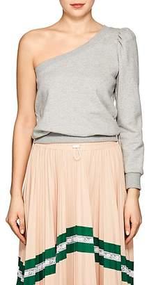 A.L.C. Women's Crane Cotton One-Shoulder Sweatshirt