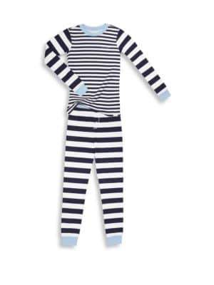 Calvin Klein Boy's Two-Piece Tee& Pants Pajama Set