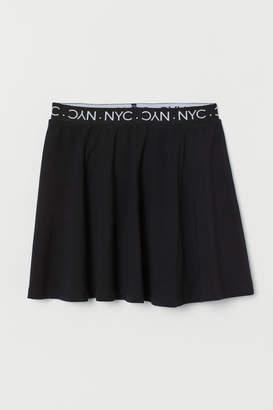 H&M Cotton jersey skirt