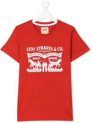 Levi's Kids TEEN printed logo T-shirt