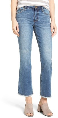 Women's Kut From The Kloth Crop Flare Jeans $89 thestylecure.com