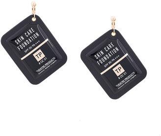 foundation pendant earring