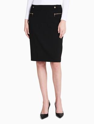 Calvin Klein high waist pencil skirt
