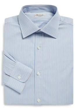 Charvet Regular-Fit Striped Poplin Dress Shirt