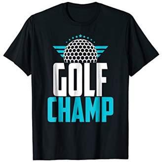Mens Golf Dad Birthday Gift Funny Gofing Winner Dad Tee Shirt