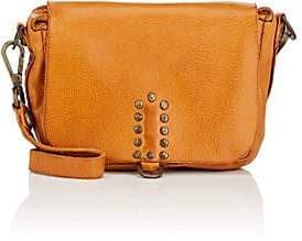Campomaggi Women's Micro Leather Crossbody Bag - Orange