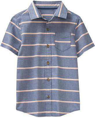 Crazy 8 Crazy8 Stripe Chambray Shirt