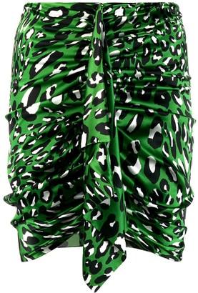 Alexandre Vauthier draped detail mini skirt