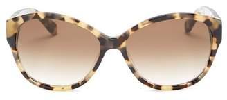 Kate Spade Women's Kiersten 56mm Oversized Sunglasses