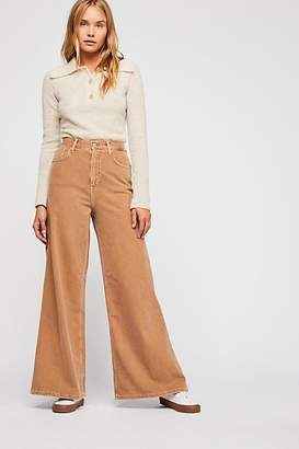 We The Free Super High-Rise Wide-Leg Jeans