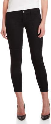 Vip Jeans Black Twill Jogger Pants