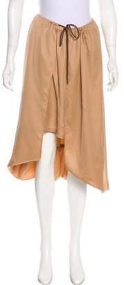 Issey Miyake Layered Midi Skirt