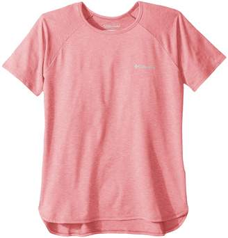 Columbia Kids Silver Ridge II Short Sleeve Tee Girl's T Shirt