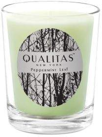 Qualitas Candles Peppermint Leaf Candle/ 6.5 oz.