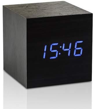 GINGKO Cube Click Clock - Black/Blue LED