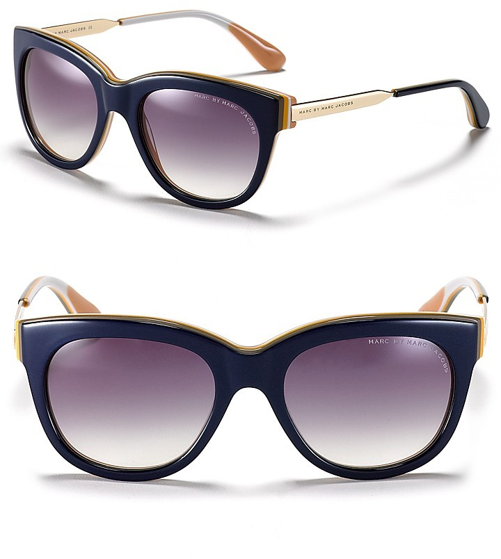 Marc by Marc Jacobs Thick Cat Eye Sunglasses