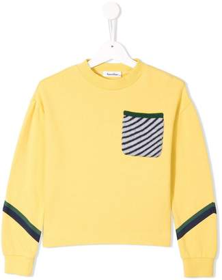 Familiar colour-block sweater