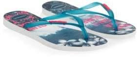 Havaianas Tropical Slim Paisage Flip Flops
