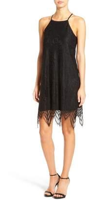 Love, Fire Lace Shift Dress