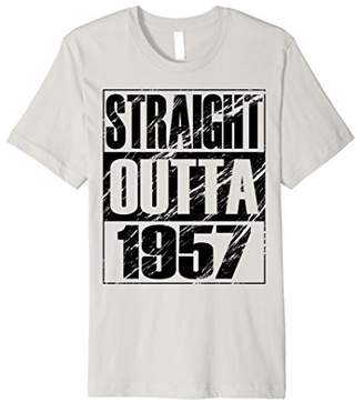 Funny Straight Outta 1957 T-shirt 61th Birthday Vintage Gift