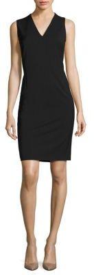BOSS Dalenia Pinstriped Sheath Dress $545 thestylecure.com