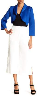 Why Dress Side Slit Cropped Pants