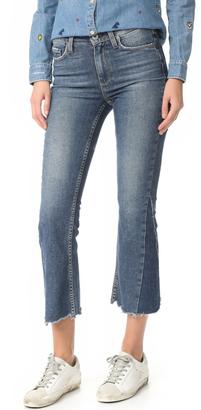 PAIGE Vintage Pieced Colette Jeans $269 thestylecure.com