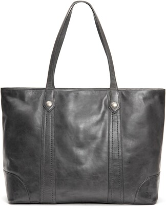 Frye Melissa Traveler Leather Tote
