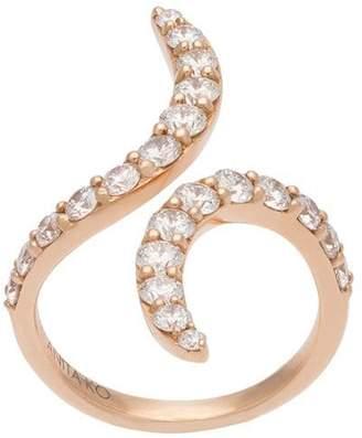Anita Ko swirl open ring