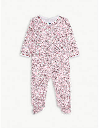 Cheap Sale Best Store To Get Outlet Where Can You Find Sale - Mally Marinière Sleepsuit - Petit Bateau Petit Bateau Finishline Cheap Price iF1DChe9D6