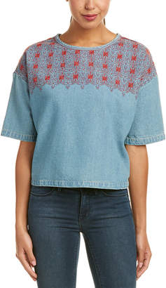 Current/Elliott The Embroidered Top